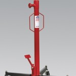 Cric telescopic vertical, capacitate de ridicare 600kg